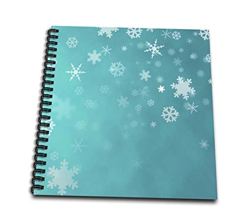 rewards4lifeギフト–Winter Snowflakesブルー–Drawing Book 8 by 8-Inch db_30060_1