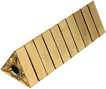 PIKA PIKA QIO 10pcs Einsätze Carbide Dreheinsätze TNMG160402R Drehwerkzeuge