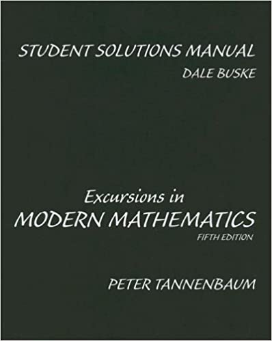 Excursions in modern mathematics, fifth edition: amazon. Com: books.