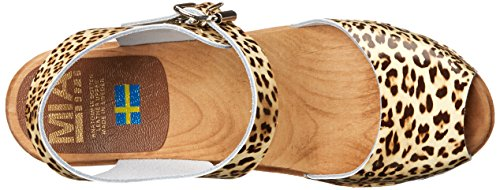 Mia Womens Greta Mule Leopard