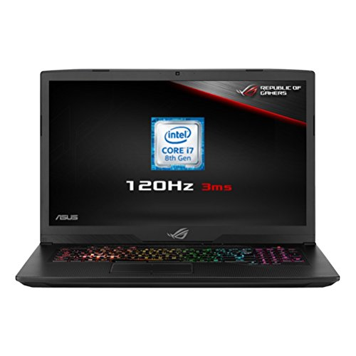 ASUS ROG Strix GL703GM-EE063T 17.3-Inch FHD 120 Hz with 3 ms Screen Gaming...