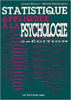 Statistique Appliquee a La Psychologie