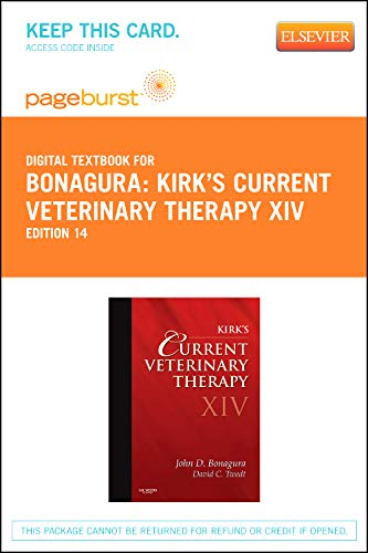 Kirk's Current Veterinary Therapy XIV - Elsevier eBook on VitalSource (Retail Access Card)
