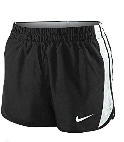 Nike Damen Anchor Laufshorts Schwarz-Weiss