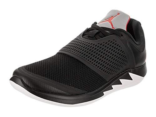 Jordan Mens Grind 2 Leather, Black/University Red-White, Size 11.5 M Us ()