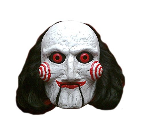 Trick or Treat Studios Men's Saw-Billy Puppet Mask, Multi, One Size]()