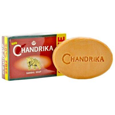 Chandrika Sandalwood Ayurvedic Soap - 75 Gram Each Bar
