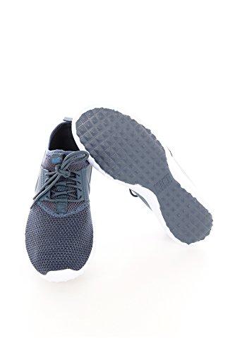 Chaussures De Course Juvéniles Txt Nike Womens Gris / Bleu - Blanc