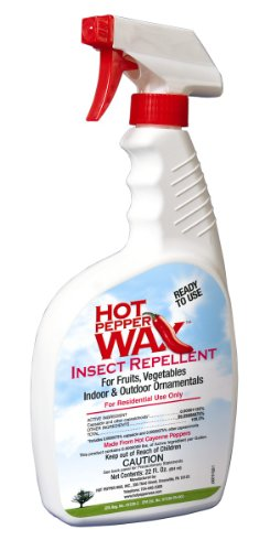 Hot Pepper Wax Natural Insect Repellent 22 Ounce Ready to Use 705539001008