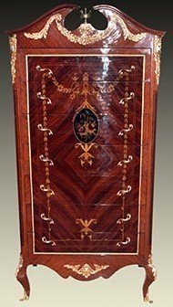 Barock Kommode Rokoko Antik Stil Louis XV MoBd04792