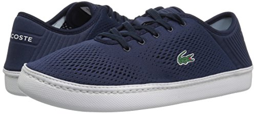 Lacoste Men's L.ydro Lace Sneakers,NVY/White Textile,10.5 M US by Lacoste (Image #6)