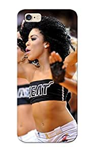 Special Standinmyside Skin Case Cover For Iphone 6 Plus, Popular Miami Heat Cheerleader Basketball Nba Phone Case For New Year's Day's Gift