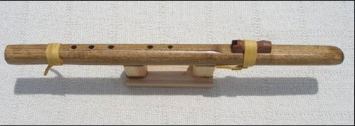 Native American Style Windpony Key of G Poplar 5-hole Flute