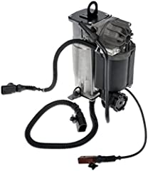 Rigorously tested for sustained, secure performance by a team of product and quality engineers, the Dorman Air Suspension Compressor eliminates excessive suspension sag, restoring vehicle handling and safety. It is available as a complete ass...