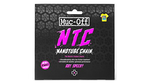 Muc-Off Nanotube Chain 11 Speed, Shimano (Best Mountain Bike Chain Lube Dry Conditions)