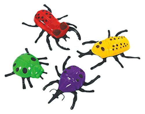 Amscan 396680 Toy Fun-Filled, Wall Crawling Bugs, Assorted, 3