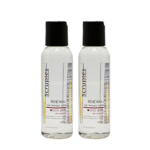 - Scruples Renewal Hair Therapy Polish Gloss with Argan Oil 60 ml / 2 oz Pack of 2