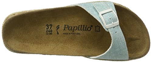 Blue Ciabatte Madrid Blau Donna Flor Birko Light Papillio Beach pw8tqSw