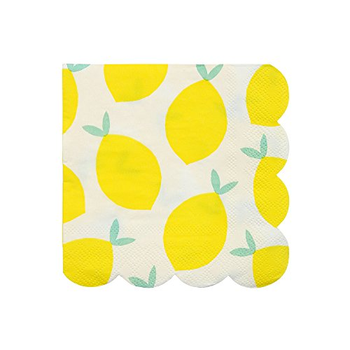 Meri Meri Lemon Small Napkins