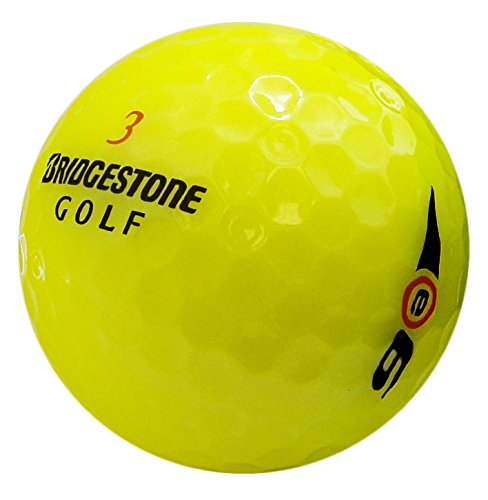 Bridgestone E6 Yellow Mint Recycled Golf Balls (36 Pack)