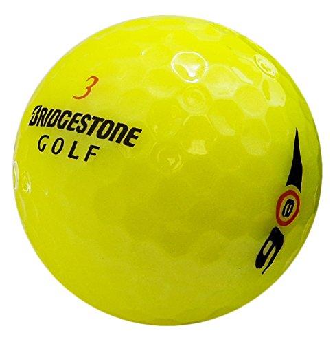 Pelotas de golf recicladas de menta amarilla Bridgestone E6 (paquete de 36)