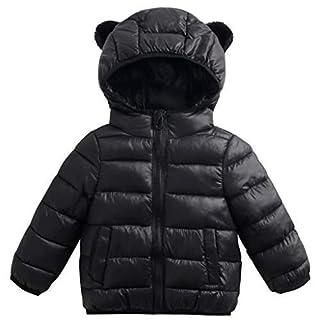 Bambini Giacche Piumino Con Cappuccio Inverno Cappotto Leggero Giubbotti con Cerniera 2-3 Anni ShenzhenWindyTradingCo. Ltd