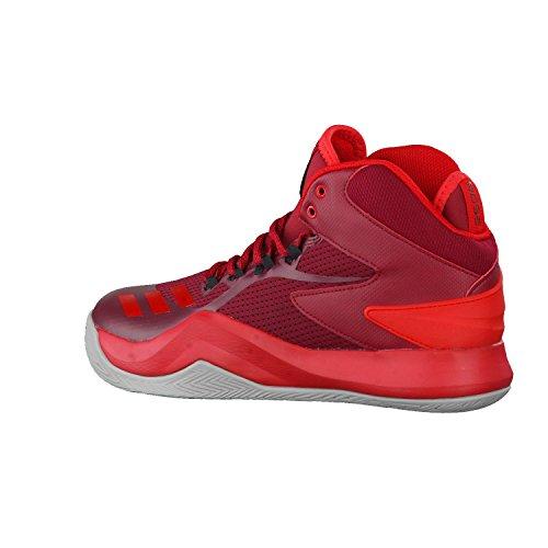 Adidas Herren D Rose Dominate Iv Basketballschuhe, Rot (Buruni/Escarl/Grpumg), 42 EU