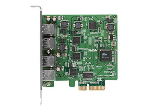 HighPoint 4-Port USB 3.0 PCI-Express 2.0 x 4 HBA RocketU - Highpoint Shopping