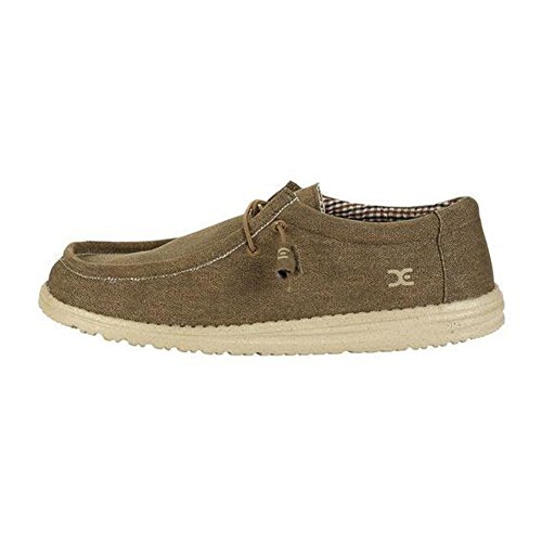 Hey Dude Mens Wally L Shoes Nut
