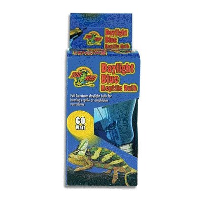 Daylight Blue Reptile Bulb [Set of 2] Watt: 40 Watts by Zoo Med