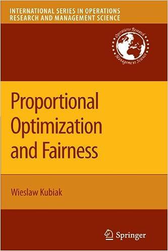 Gratis bok å laste ned på internett Proportional Optimization and Fairness (International Series in Operations Research & Management Science) 144194687X PDF DJVU FB2