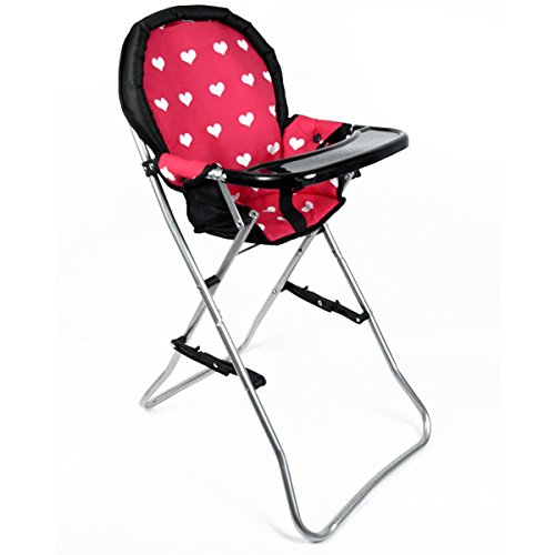 Baby Doll High Chair Furniture - The New York Doll Collection A166 18