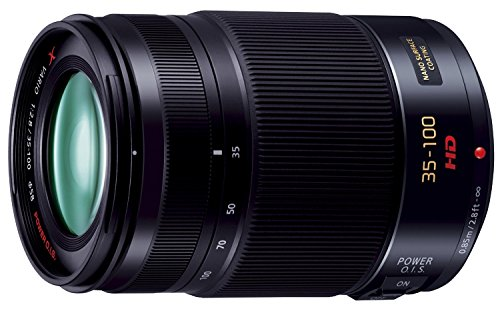 PANASONIC-LUMIX-G-X-Vario-Lens-35-100mm-F28-ASPH-Professional-Mirrorless-Micro-Four-Thirds-POWER-Optical-IS-H-HS35100-USA-BLACK-Certified-Refurbished