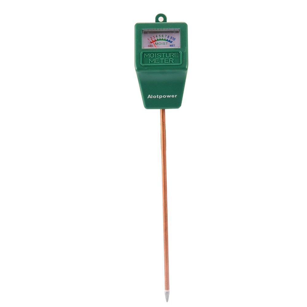 Alotpower Soil Moisture Sensor Meter,Hygrometer Moisture Sensor for Garden, Farm, Lawn Plants Indoor & Outdoor(No Battery needed)