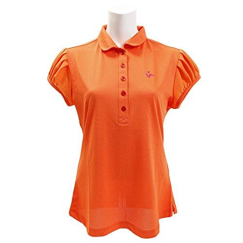 ポロシャツ レディース ビバハート VIVA HEART 2018 春夏 ゴルフウェア L(42) オレンジ(038) 012-2744581
