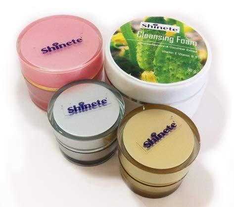 Shinete 4 in 1 Giftset Cream Baby Face Whitening Lightening Reduce Freckles Melasma Dark spots by jawnoy