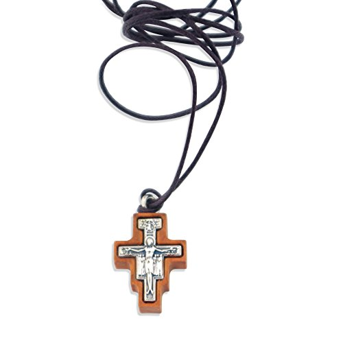 San Damiano Cross Necklace and ()