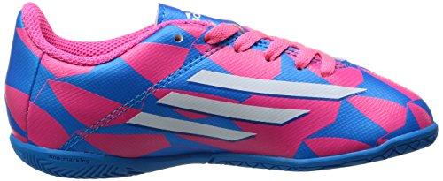 adidas Zapatilla Jr F5 IN Solar pink-Solar blue pink-white-blue