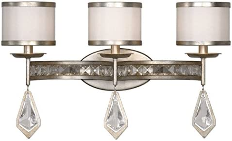 Uttermost, Silver Champagne 22505 Tamworth Modern 3 Light Vanity Strip, Finish