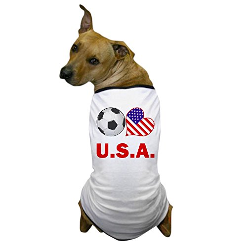Usa Costume For United Nation (CafePress - U.S.A. Soccer Fan Dog T-Shirt - Dog T-Shirt, Pet Clothing, Funny Dog Costume)