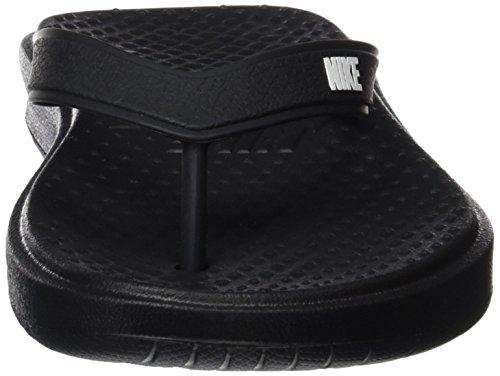 Nike 882690, Chanclas Hombre, Negro (Negro/Blanco), 42.5 EU