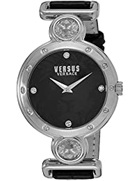 Womens SOL020015 Sunnyridge Analog Display Quartz Black Watch