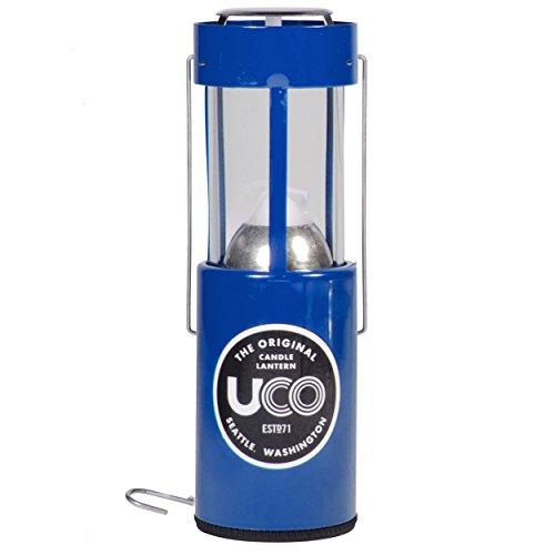 UCO Original Candle Lantern (Blue) (Lantern Candle Brass)