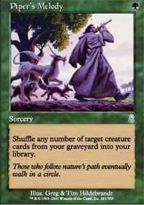 Magic: the Gathering - Piper's Melody - Odyssey - Foil by Magic: the Gathering