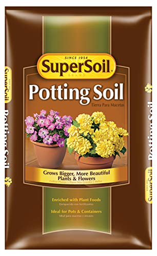 (Miracle Gro 72751490 1 Cu Ft Supersoil Potting Soil .014-0.09-0.02)