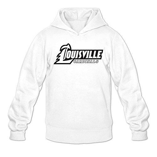 Men's Kentucky Louisville Cardinals Classic Logo Hoodie