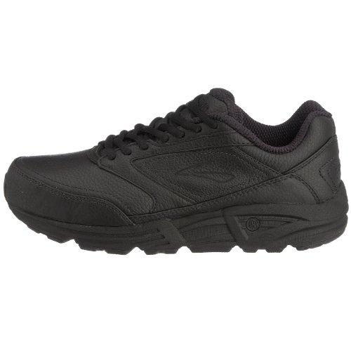Black Cuero Zapatos Hombre Para De Brooks ZU6wExXUq
