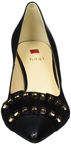 Högl 4-10 6730 0100, Scarpe con Tacco Donna Nero (Schwarz)