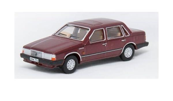 Amazon.com: OXFORD DIECAST 76VO002 Volvo 760 Red Wood Metallic: Toys & Games