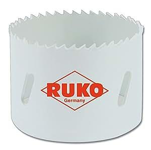 Ruko 126108 - Corona perforadora HSS Co 8 bimetal, dentado fino (108 mm)